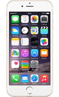 iPhone 6s 128GB Gold on Sky Mobile