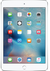 "iPad Mini 4 7.9"" (2015) 128GB Silver on Sky Mobile"