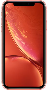 iPhone XR 64GB Coral on Sky Mobile